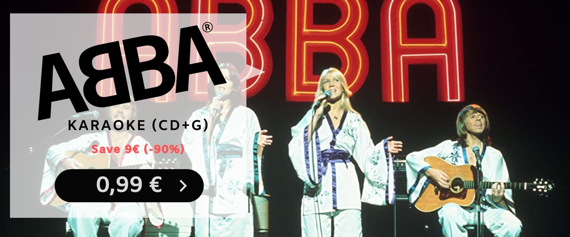 ABBA Karaoke (CD+G) - only 0,99 € (90% off)