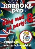Häng Med På Party Vol 8 (DVD)